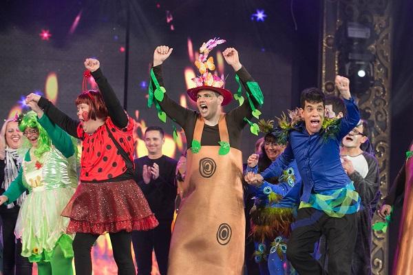 El Carnaval de «Una noche en Río» celebra la XI gala de la integración