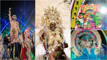 All hail the Las Palmas de Gran Canaria Carnival Royalty!