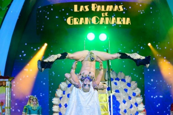 Drag Chuchi is 2019 Drag Queen of Las Palmas de Gran Canaria