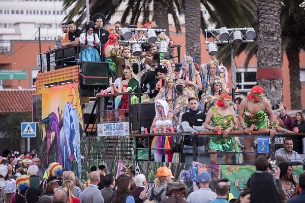 La gran cabalgata del Carnaval de «Una noche en Río» saldrá de La Isleta con 112 carrozas