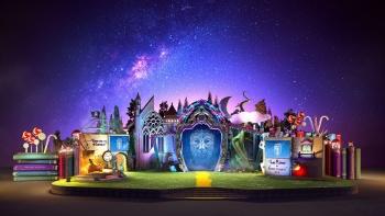 """""""Es war einmal der Karneval"""", eine Allegorie auf das Fest im Jahr 2020"""