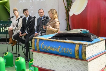 La Reina del Carnaval de Las Palmas de Gran Canaria 2020 recibirá un nuevo cetro hecho a mano con vidrio reciclado