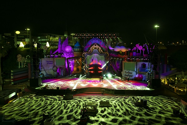 El escenario ya está listo para celebrar el Carnaval de «Érase una vez…»