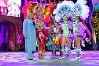 Lianceiros Junior gana el premio de interpretación y Chiramay el de vestuario en el concurso de comparsas infantiles